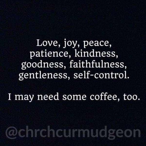 Coffee too…